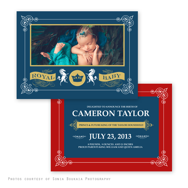 Royal Baby Birth Announcement