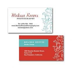 Melissa Business Card Template
