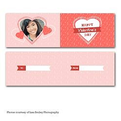 Love Is Pure Bookmark Template