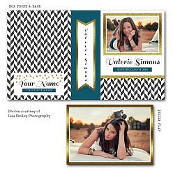 Glitter Point Image Box Template