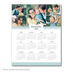 Joyful Year Calendar Template 2015