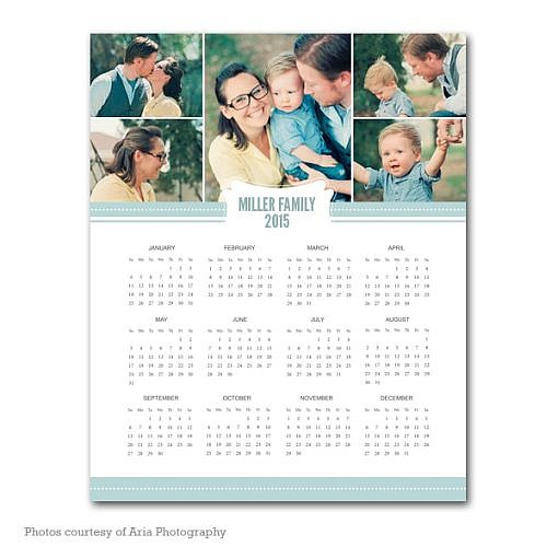 Joyful Year Calendar Template 2015 1