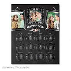 Smiles Ahead Calendar Template 2015