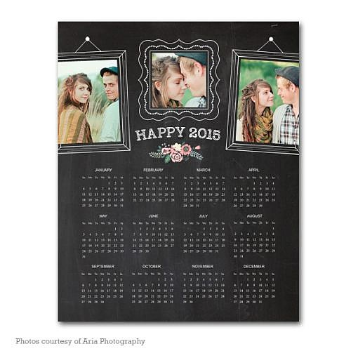 Smiles Ahead Calendar Template 2015 1