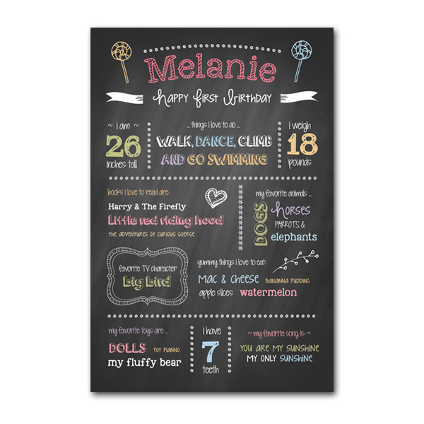 chalkboard template word