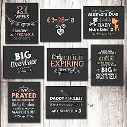 Chalkboard Signs Set - Maternity & Pregnancy
