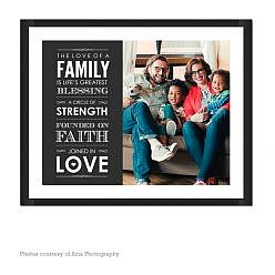 Family Blessing Wall Art