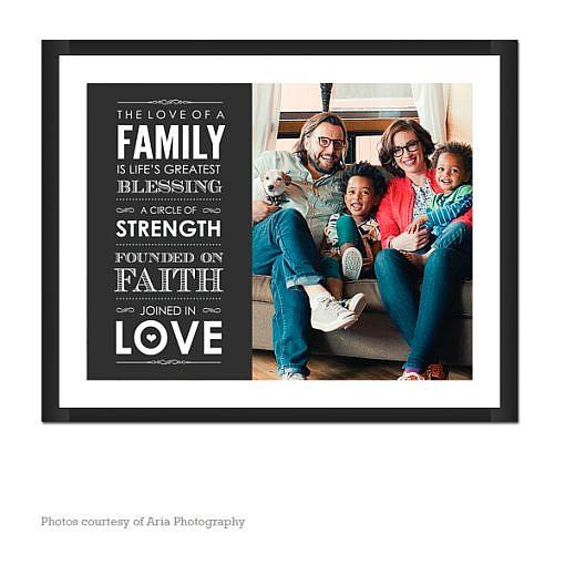 Family Blessing Wall Art   1