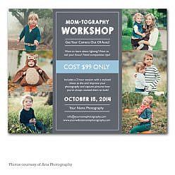 Momtography Workshop Flyer Template
