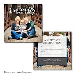 Just For You Gift Certificate Template