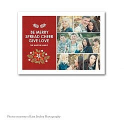 Spread Cheer Holiday Card Template