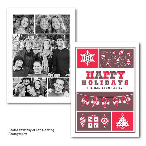 Holiday Stack Holiday Card Template  1