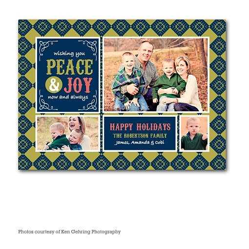 Loveness Holiday Card Template  1