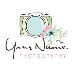 Lens Flora Logo Template