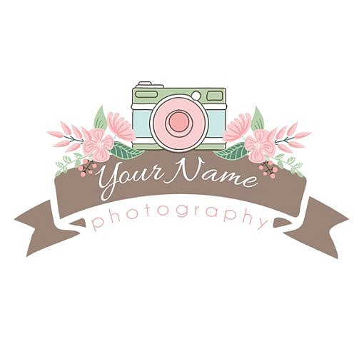 Shutter Bloom Logo Template 1