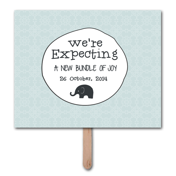 were expecting pregnancy announcement photo prop template 1