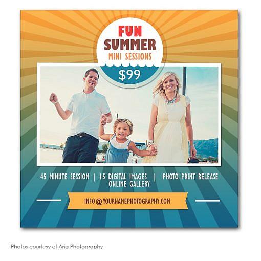 Summer Days Marketing Board 1