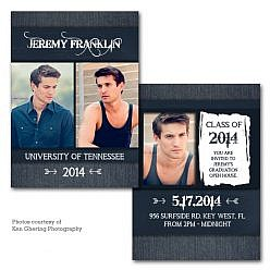 Denim Day Graduation Announcement