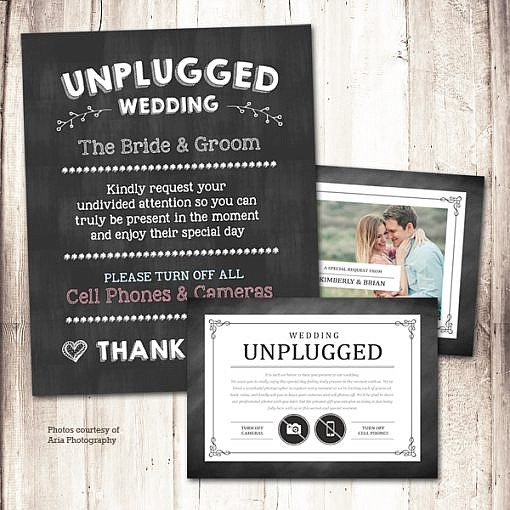 Unplugged Wedding Kit  1