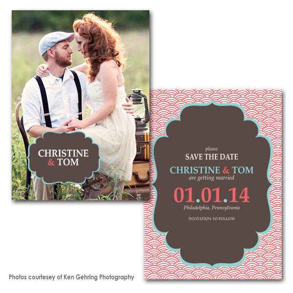 Lovingale Save the Date Card