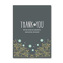 Florially Thank you Card