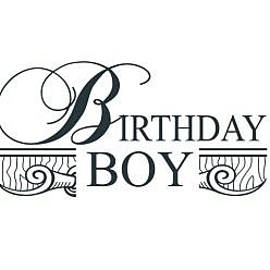 Birthday Boy Word Art
