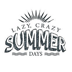 Lazy Summer Word Art