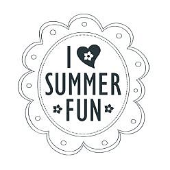 Summer Fun Word Art
