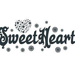 Sweet Heart Word Art