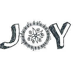 Joy Word Art