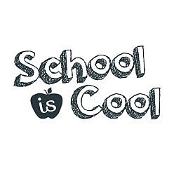 School Is Cool Word Art