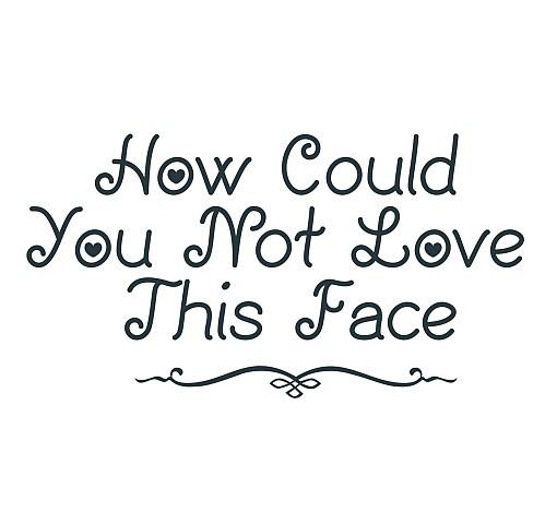 Love Face Word Art 1