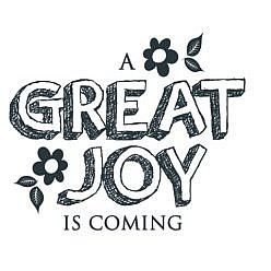 Great Joy Word Art