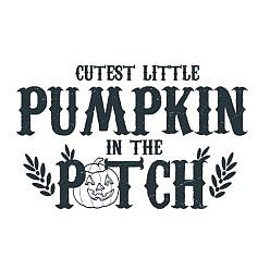 Cutest Pumpkin Word Art