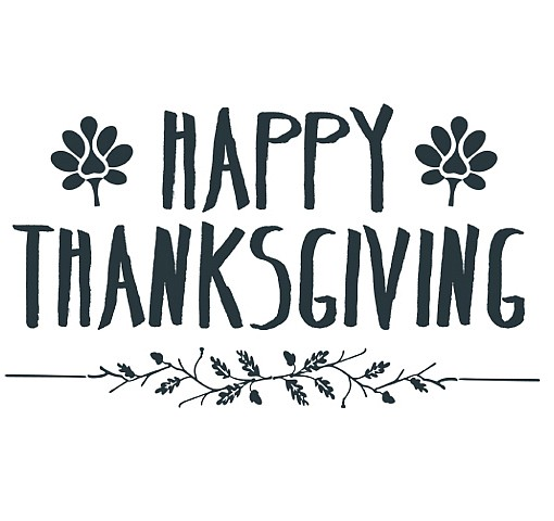 Happy Thanksgiving Word Art