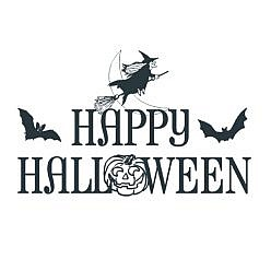 Happy Halloween Word Art