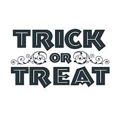 Trick Treat Word Art