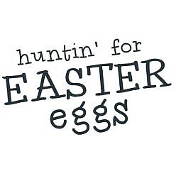 Hunting Eggs Word Art