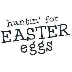 Hunting Eggs Word Art