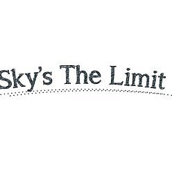 Sky's The Limit Word Art