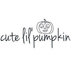 Cute Lil' Pumpkin Word Art