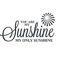 Sunshine Word Art
