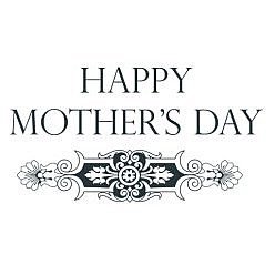 Happy Mother's Day Word Art