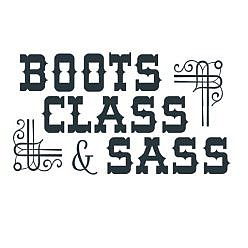 Boots Sass Word Art