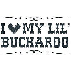 Lil' Buckaroo Word Art