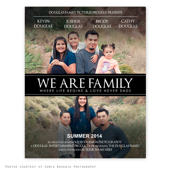 We Are Family Movie Poster Template |