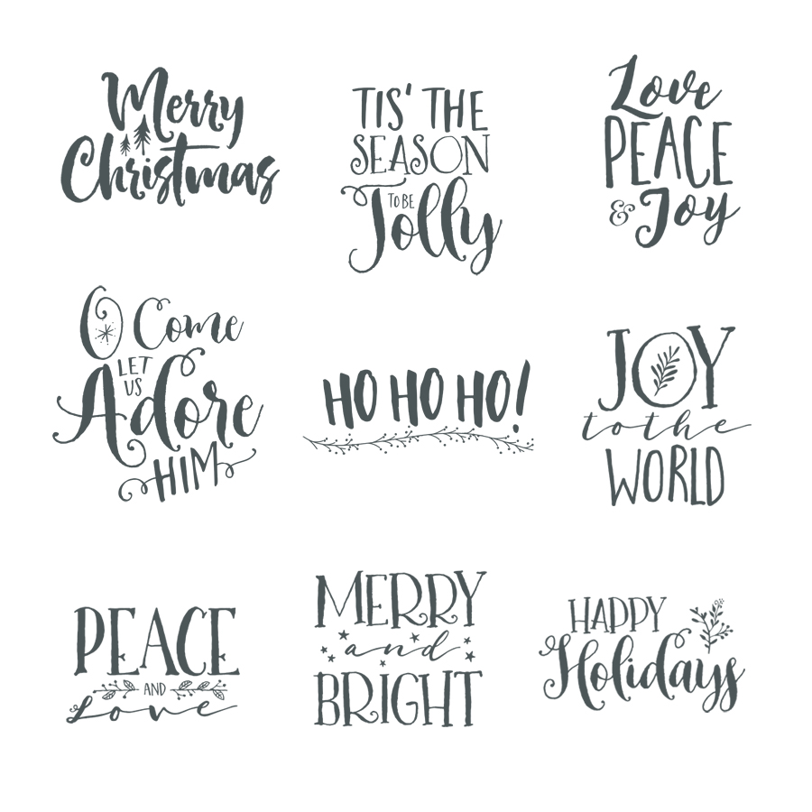 homeword artholiday christmas word art overlays - Christmas Overlays