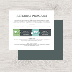 Referral Kits / Cards