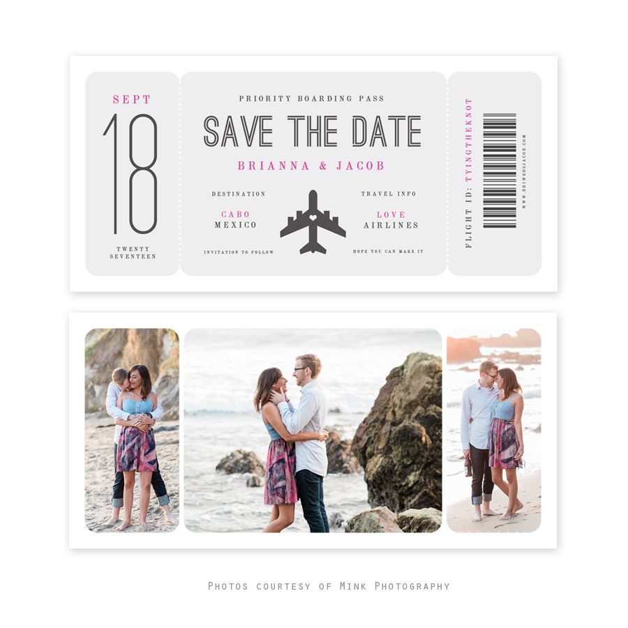 Save the date cards free in Perth