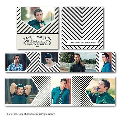 Stripematic Accordion Mini Book (3x3) 1